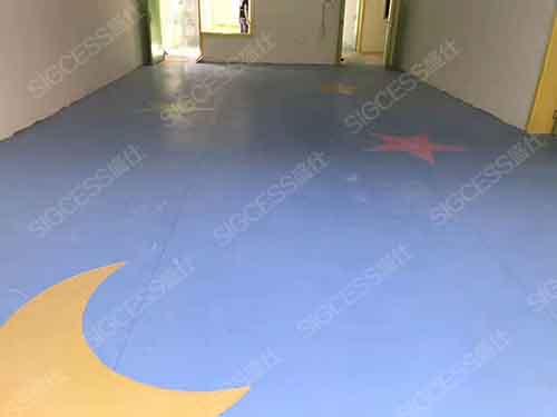 选择舒适安全的PVC塑胶地板是很重要